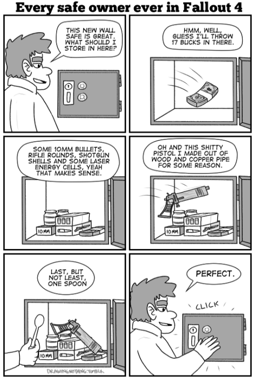 funny memes fallout 4 safes