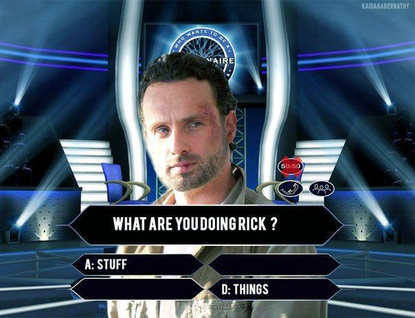 who wants to be a millionaire stuff and things