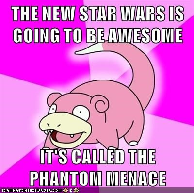 video games geek star wars slowpoke the phantom menace - 8592563456