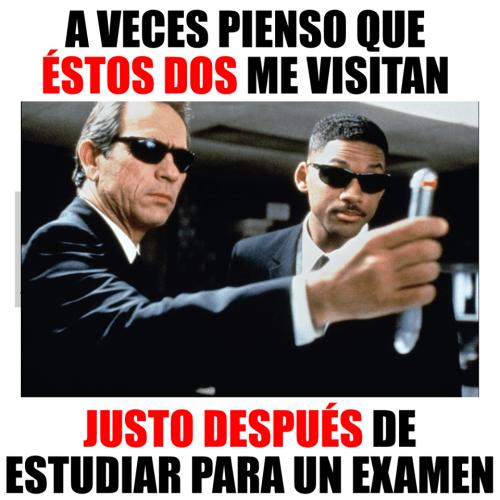 estudiar para un examen
