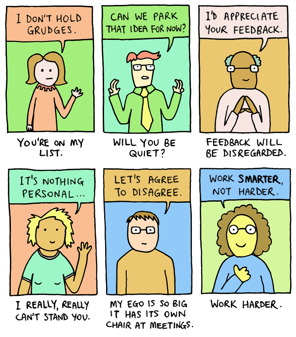 work web comics Workplace Translations