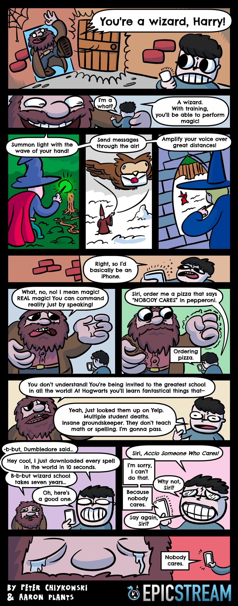 harry potter web comics Poor Hagrid