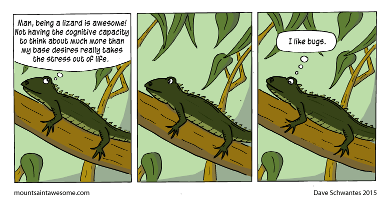 lizard web comics Doesn't Everybody?