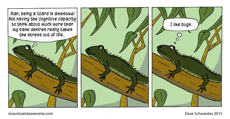 lizard web comics Doesn't Everybody?