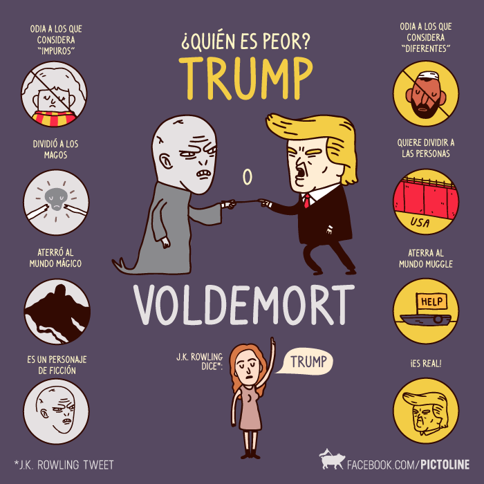 Trump Vs Voldemort