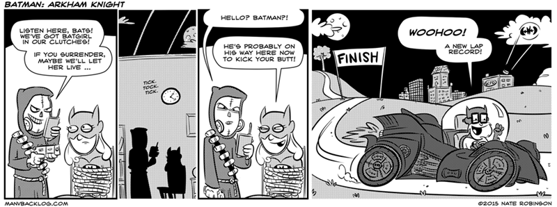 web comics batman Sure He Is, Right After Another Side Quest