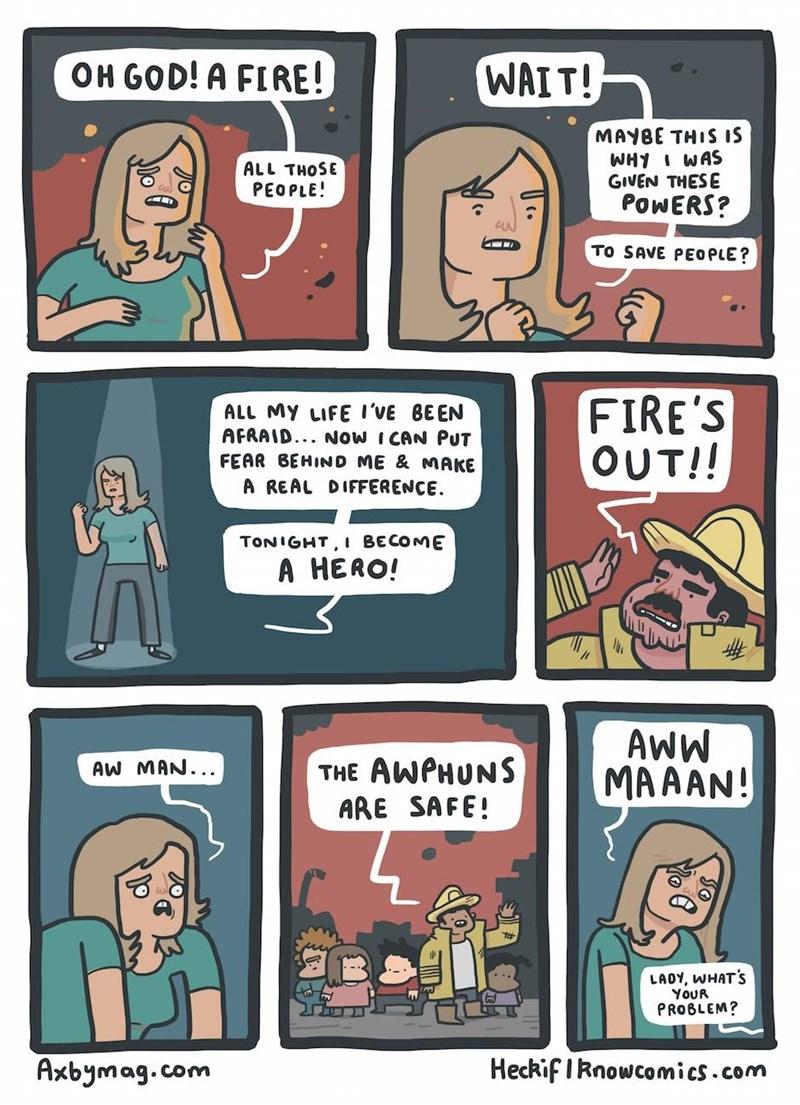 web comics super powers