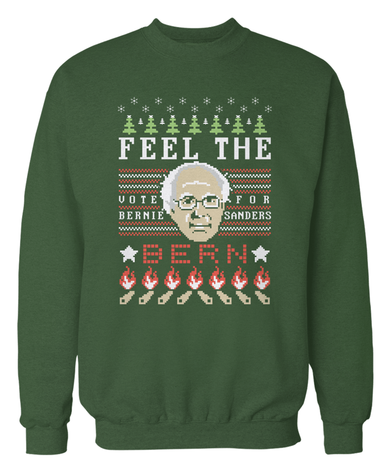 Feel the Bern While You Roast Chestnuts on an Open Fire