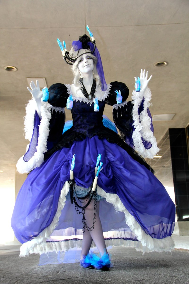 pokemon chandelure gijinka cosplay