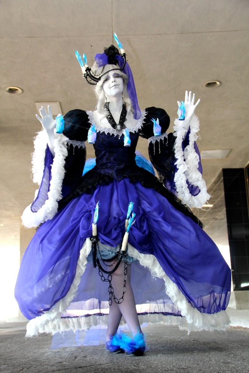 pokemon chandelure gijinka cosplay