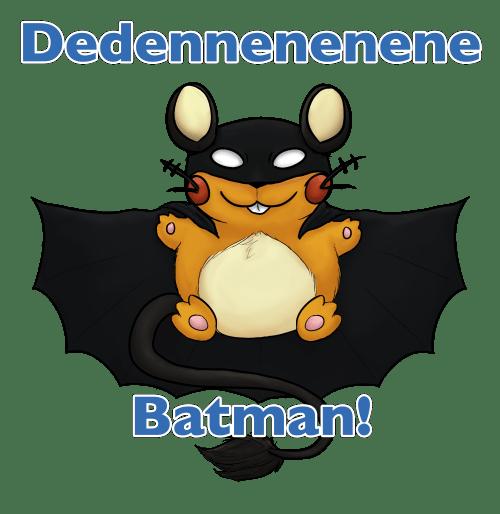pokemon memes dedenne batman