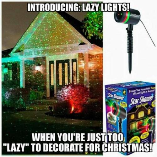 christmas memes lazy lights
