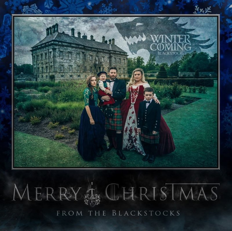 christmas Winter Is Coming Game of Thrones kelly clarkson celeb - 8593402368