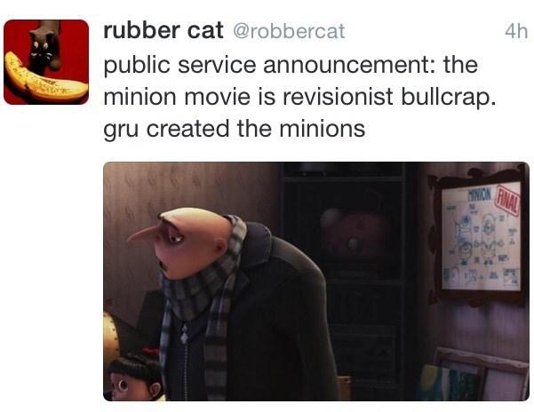 gru created the minions