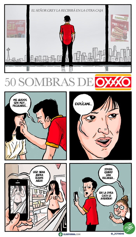 50 sombras del Oxxo