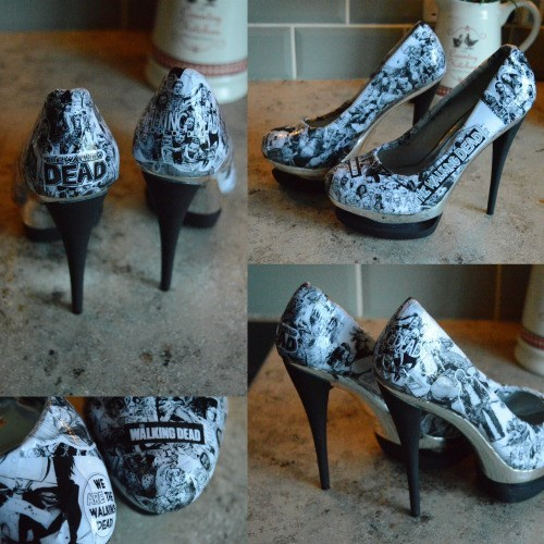 walking dead shoes