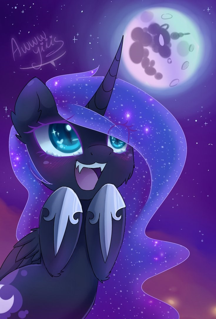 nightmare moon princess luna - 8593954816