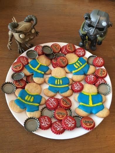 fallout DIY cookies - 8594097408