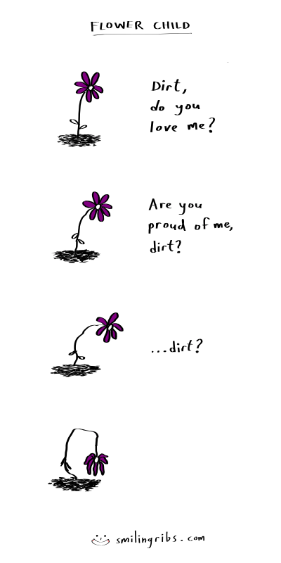 web comics flowers This is Why Most Flowers Turn Toward the Sun