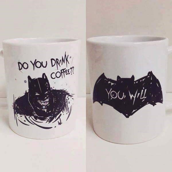 batman coffee Tell Me, Do You Take Cream and Sugar?