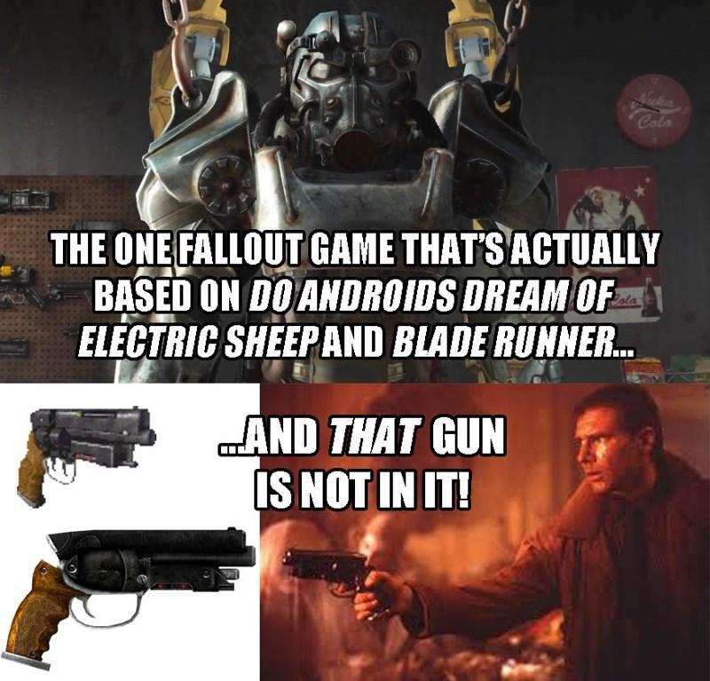Blade Runner fallout 4 - 8594385408
