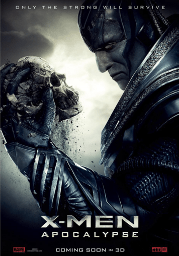 x men poster Creepy New X-Men: Apocalypse Poster