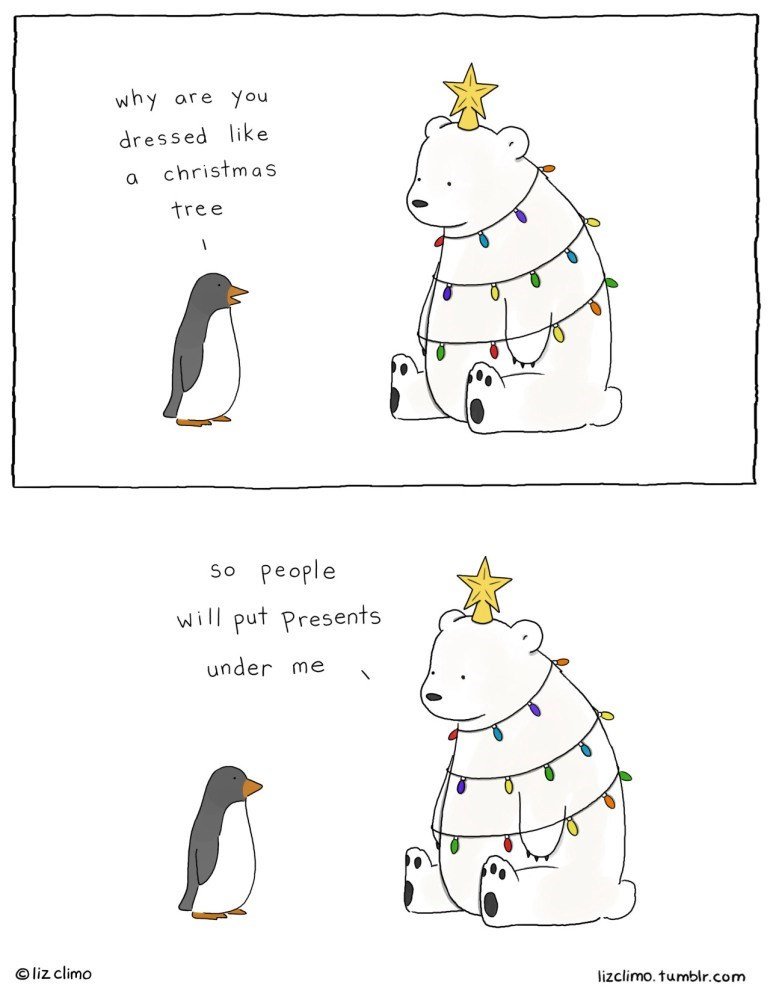 web comics christmas Best Way to Get a Lot of Presents