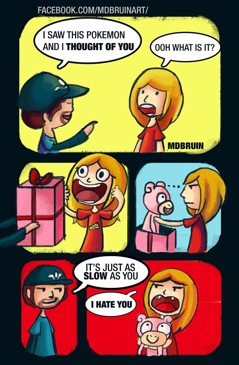 Fan Art slowpoke web comics - 8594620928