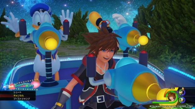 kingdom hearts 3 new gameplay footage