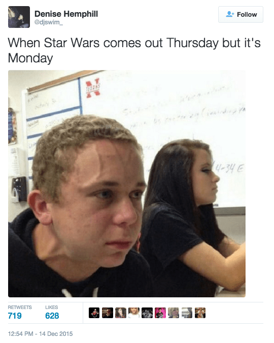 when star wars comes out on thursday