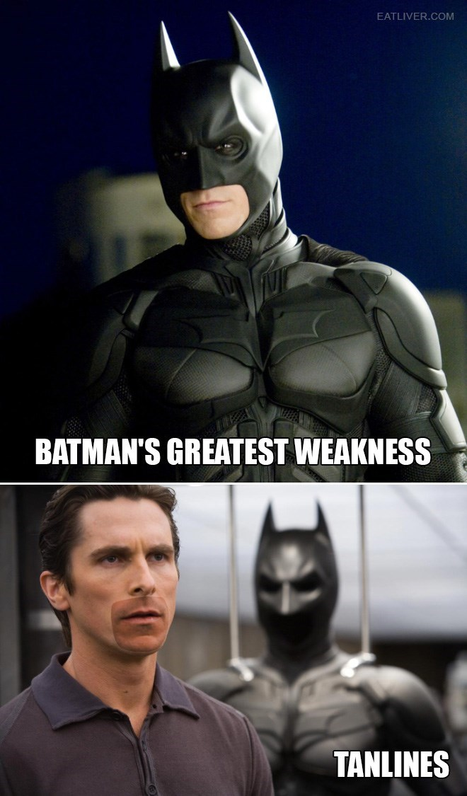 batman I Guess That's Why He Usually Only Goes Out at Night