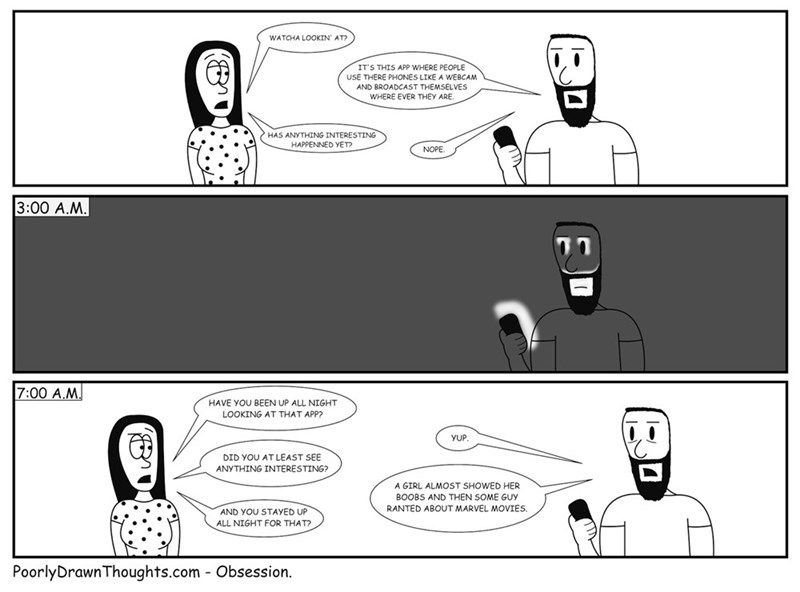 web comics internet The Internet in a Nutshell