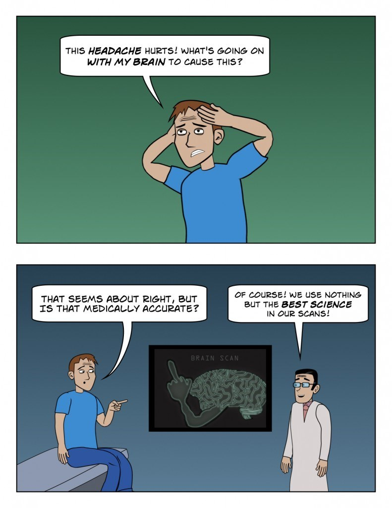 science web comics Can't Argue With Science