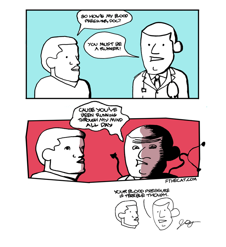 web comics doctor So... You're Not a Runner, Are You?