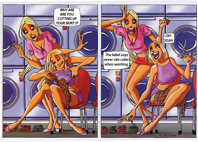 blondes web comics
