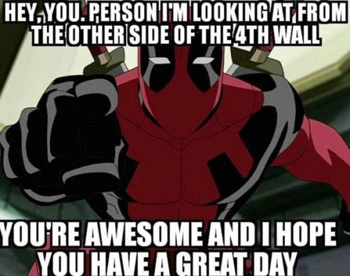 deadpool image Hey, Thanks Deadpool!