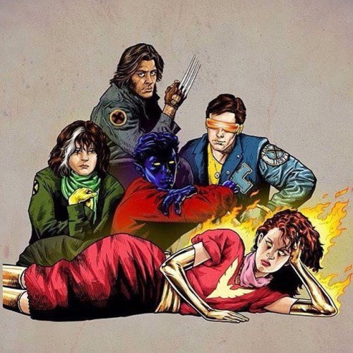 x-men fan art Five Strangers With Nothing In Common... Except Mutations