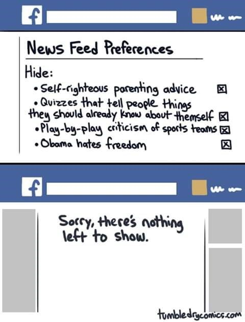 facebook web comics Just the Way I Like It