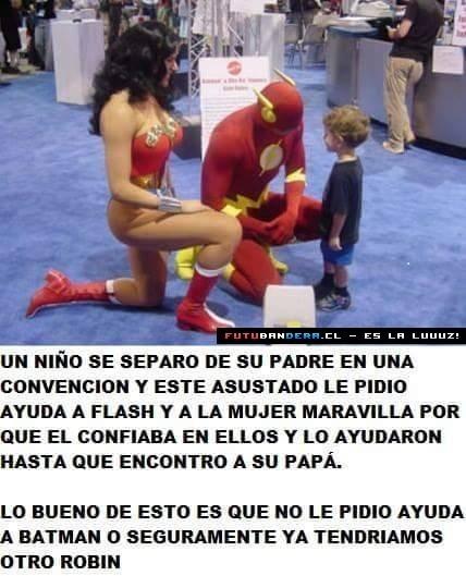 No todos los súper héroes son iguales