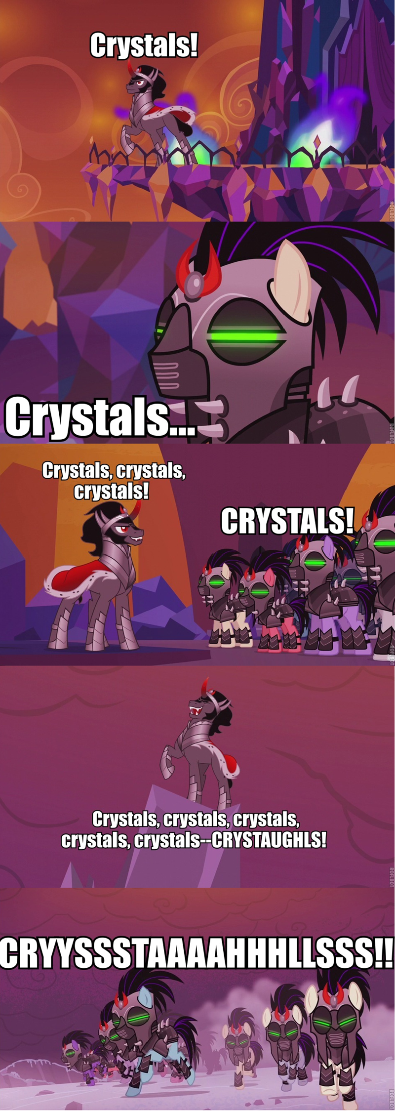 the cutie re-mark,sombra,crystals