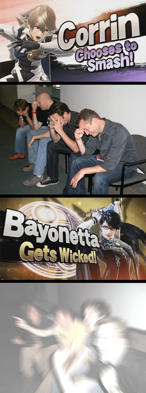 bayonetta super smash bros - 8595103232