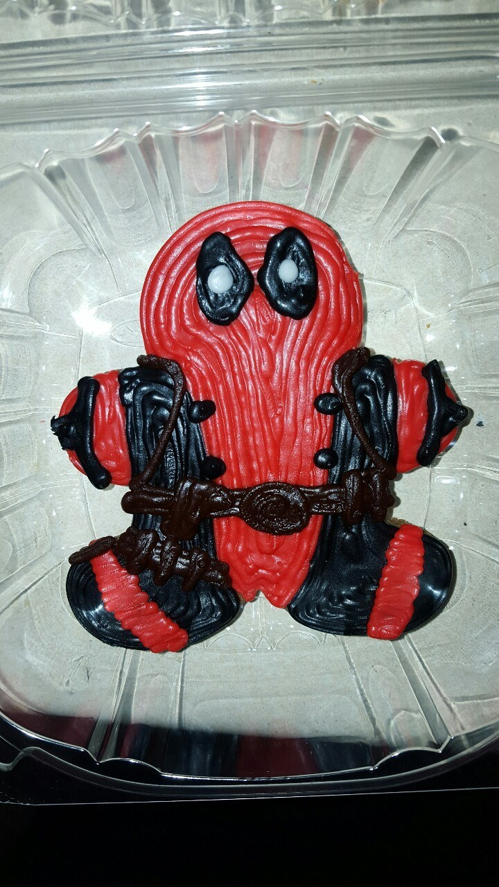 deadpool cookies Will This Gingerbread Man Regenerate?
