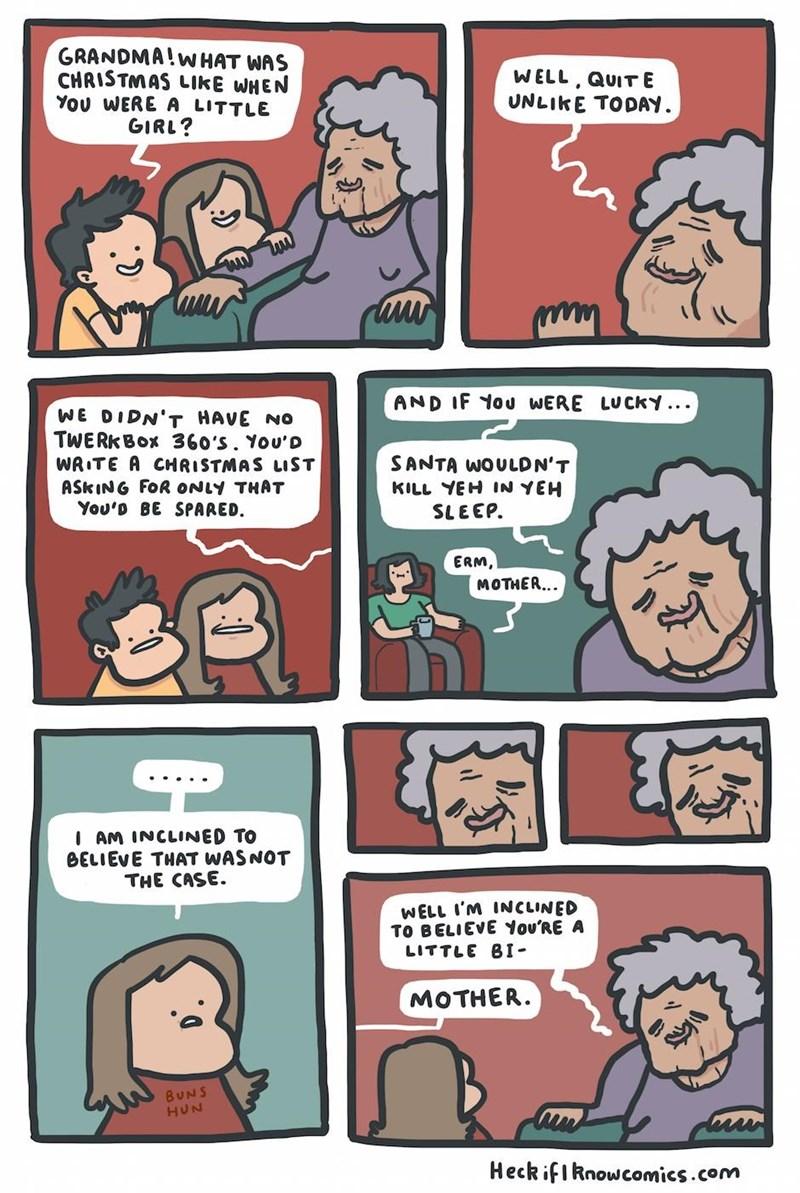 web comics christmas Christmas Sure Was Different
