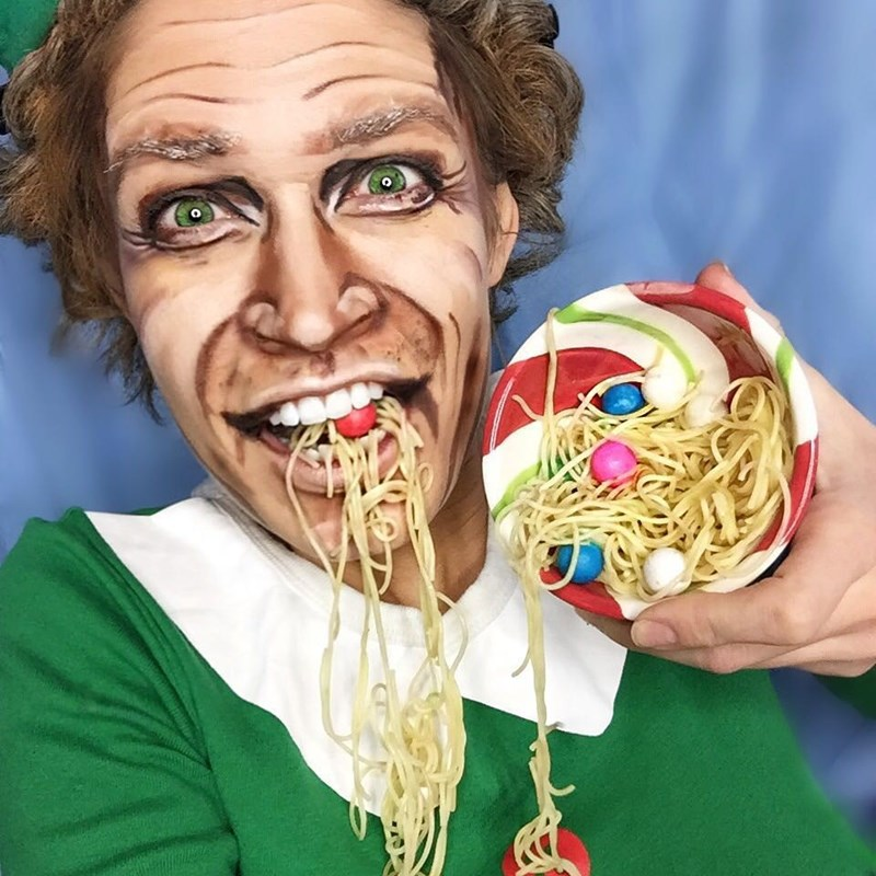 epic buddy the elf makeup