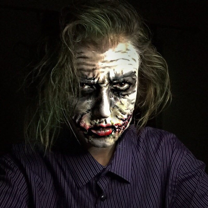 the joker makeup