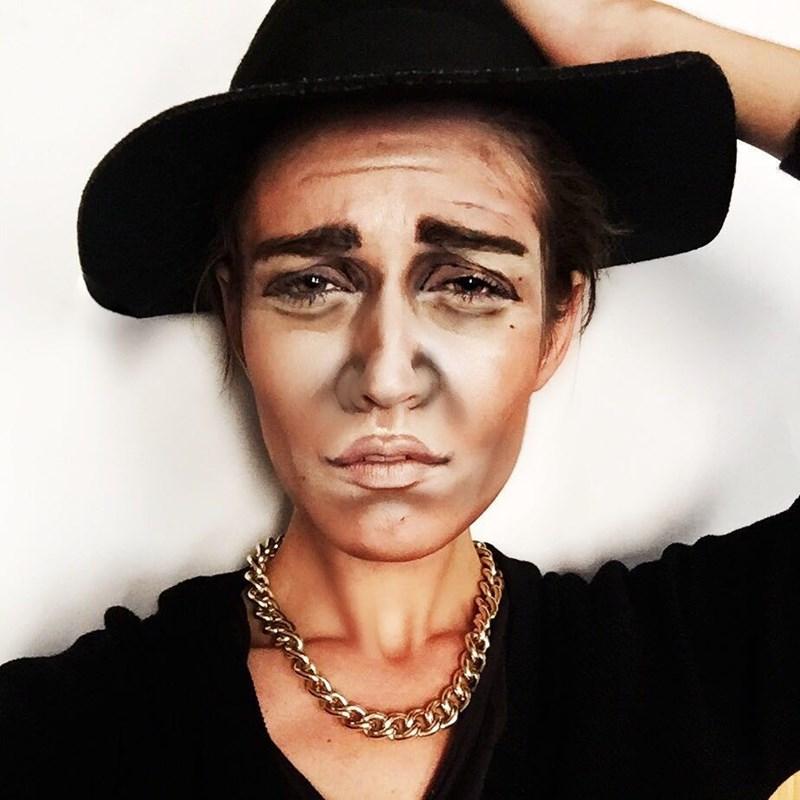 justin bieber makeup