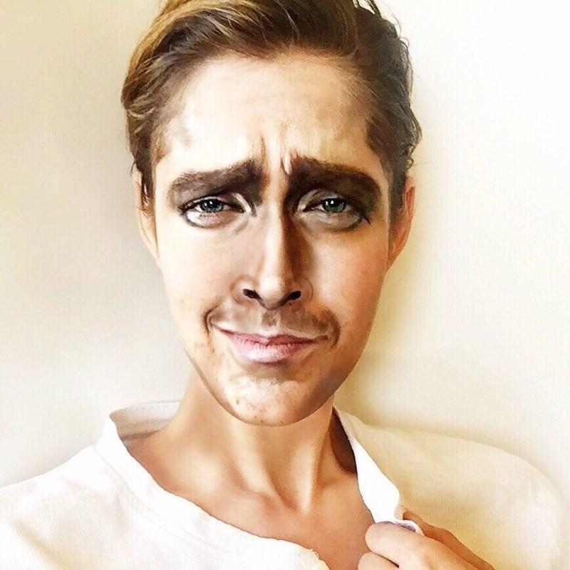 ryan gosling makeup
