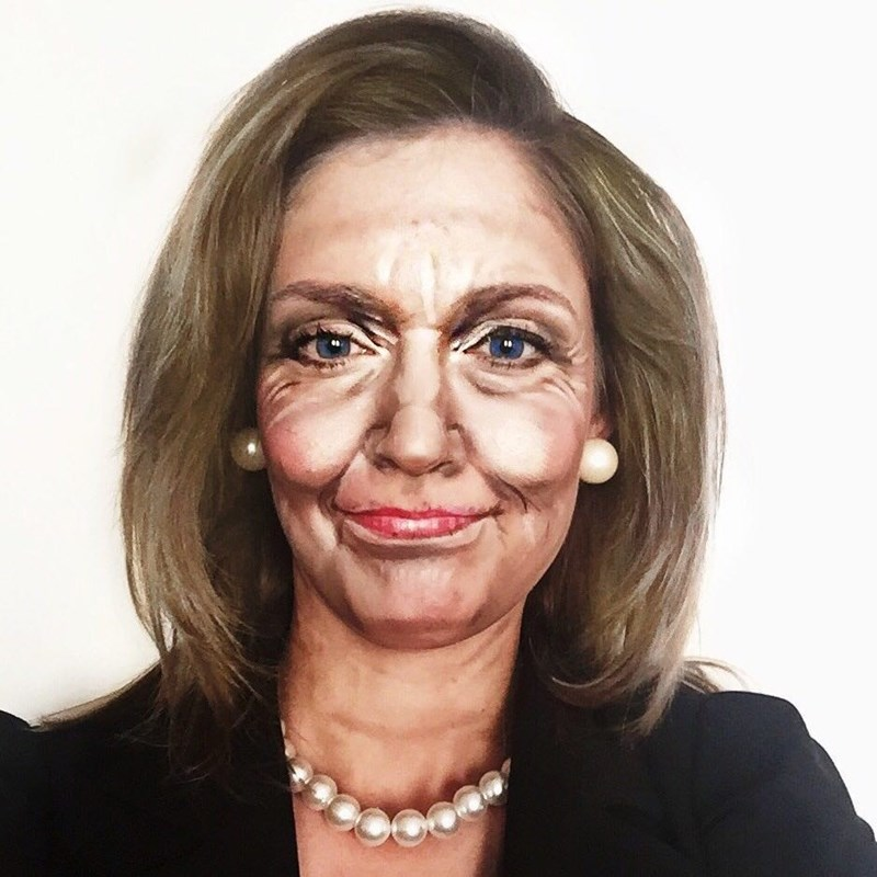 hillary clinton makeup
