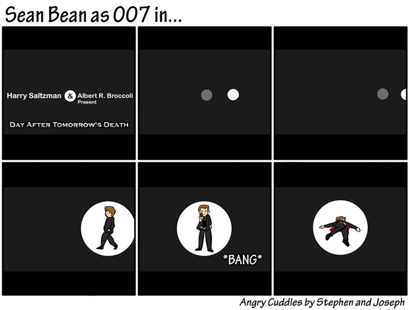 web comics sean bean That Wouldn't Be a Long Movie