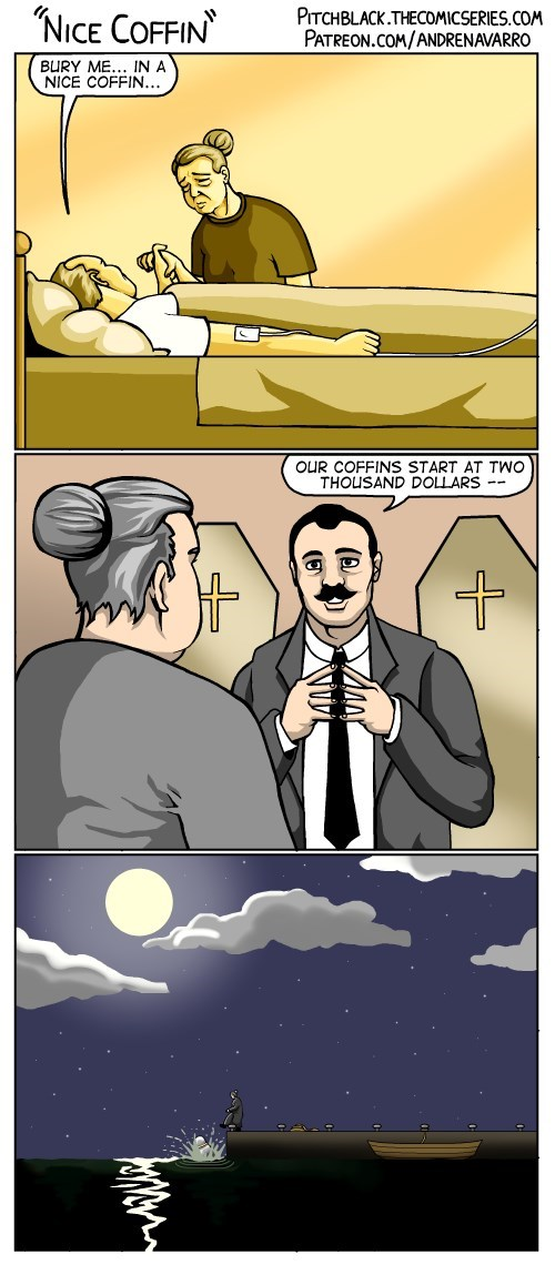 web comics death He Would Have Wanted It This Way